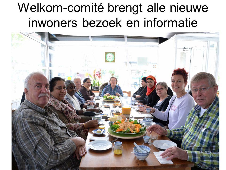 Welkom-comité brengt alle nieuwe inwoners bezoek en informatie