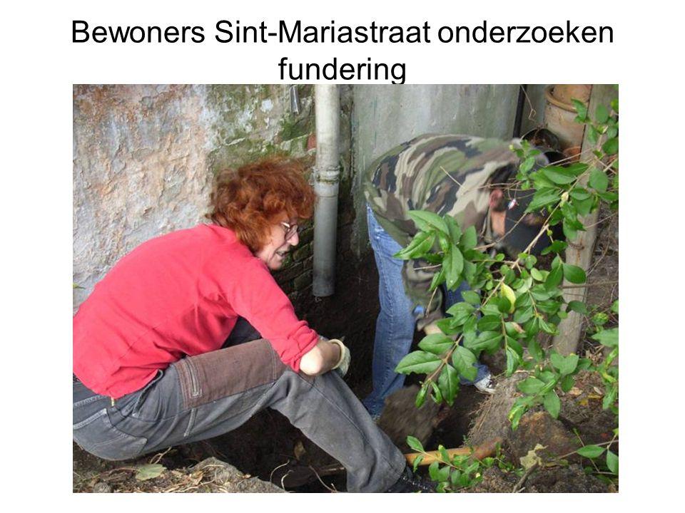 Bewoners Sint-Mariastraat onderzoeken fundering