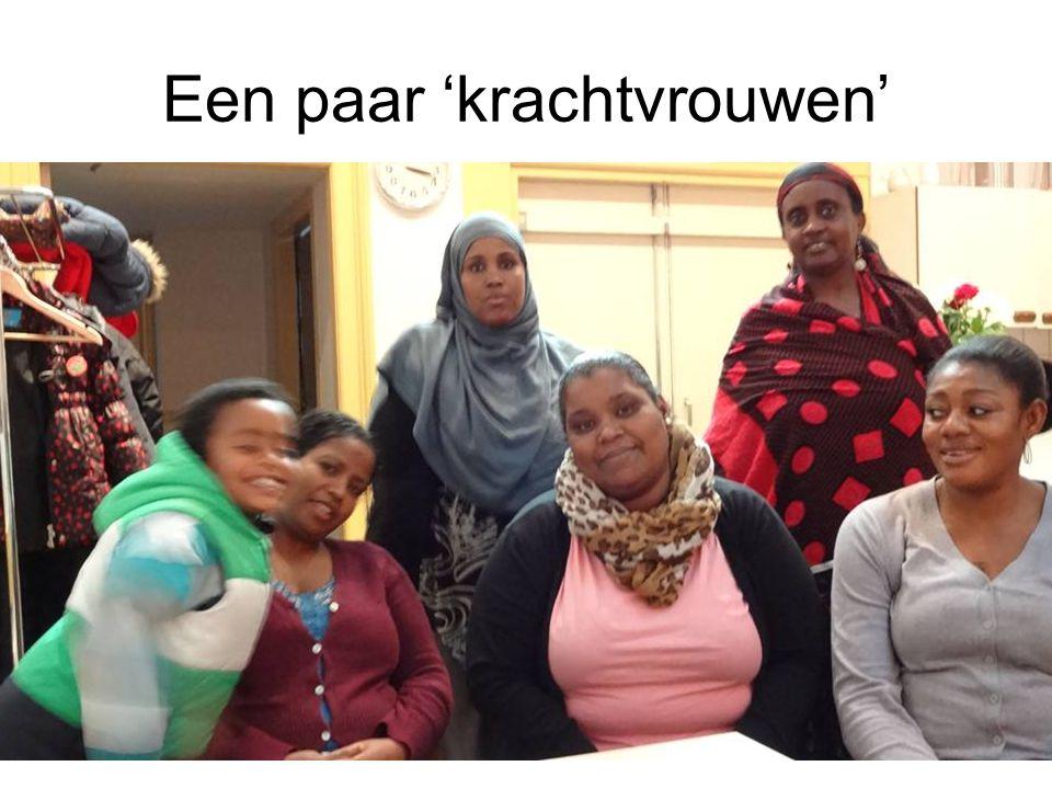 Een paar 'krachtvrouwen'