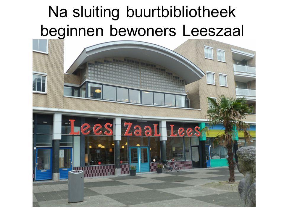 Na sluiting buurtbibliotheek beginnen bewoners Leeszaal