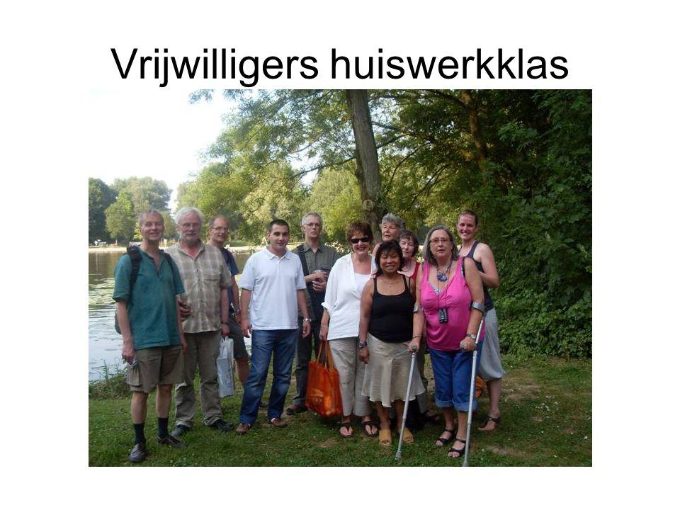 Vrijwilligers huiswerkklas