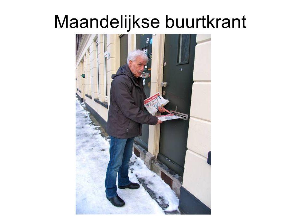 Maandelijkse buurtkrant