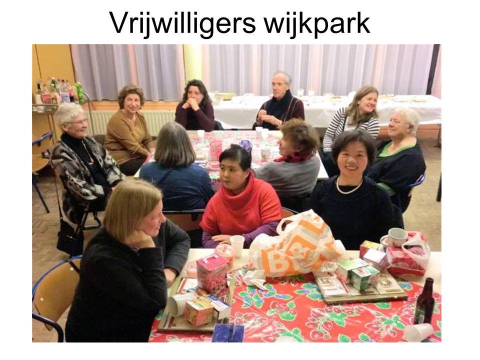 Vrijwilligers wijkpark