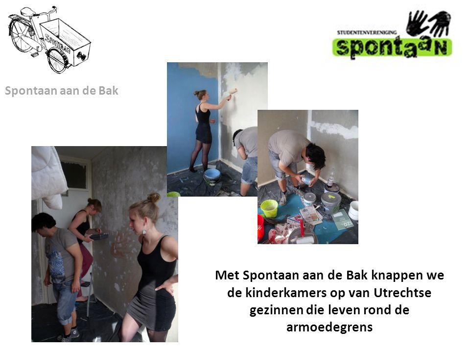 Spontaan aan de Bak Met Spontaan aan de Bak knappen we de kinderkamers op van Utrechtse gezinnen die leven rond de armoedegrens