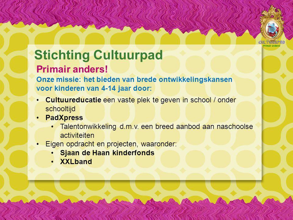 Stichting Cultuurpad Primair anders.