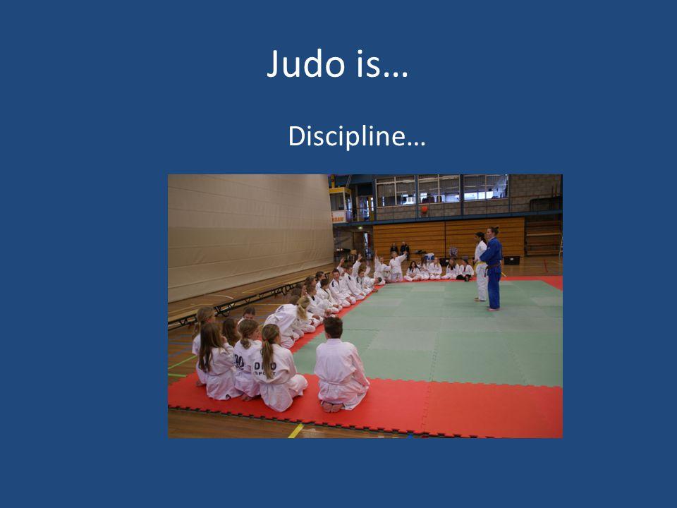Judo is… Samenwerken…
