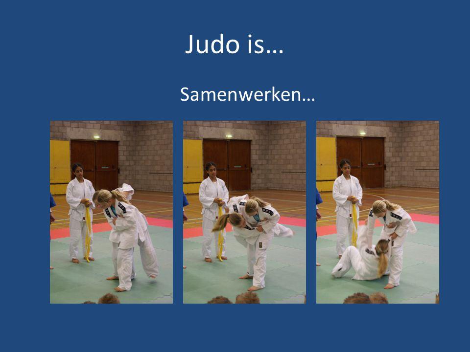 Judo is… Voor iedereen!!.