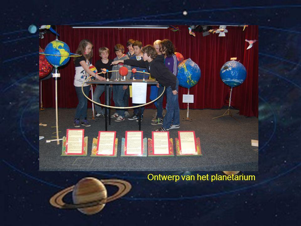 Ontwerp van het planetarium
