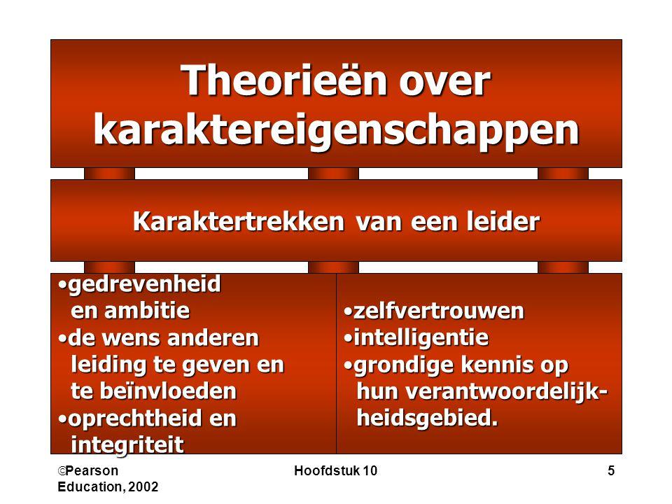 Pearson Education, 2002 Hoofdstuk 1016 Wat is vertrouwen.