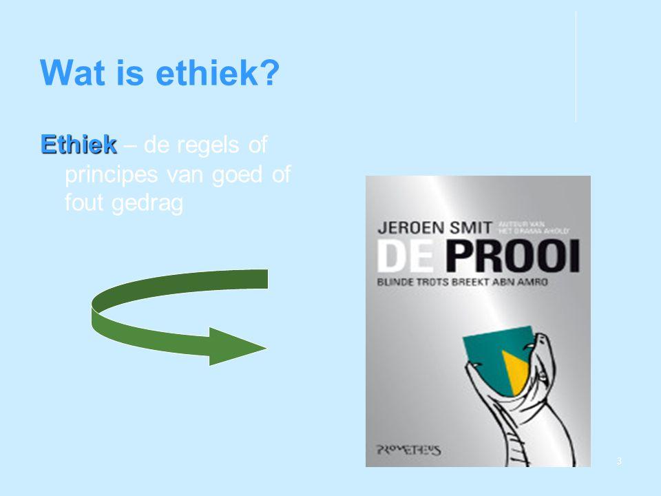 4 Waarom is ethiek belangrijk voor managers.