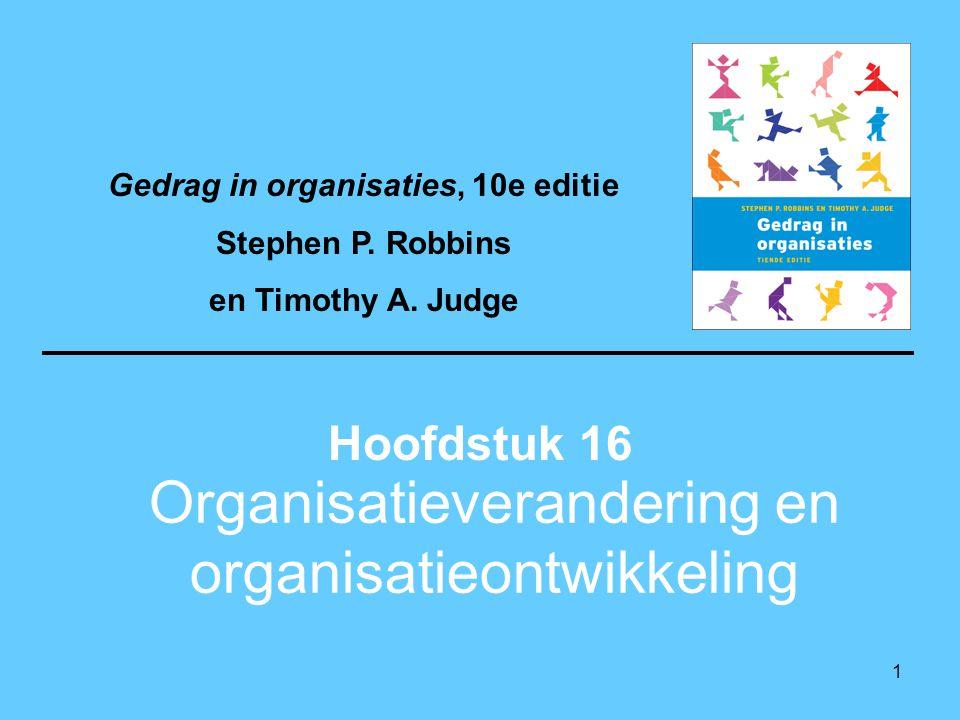 12 Appreciative inquiry Deze benadering wil de unieke kwaliteiten en speciale sterke punten van een organisatie identificeren en benutten om de prestaties te verbeteren.