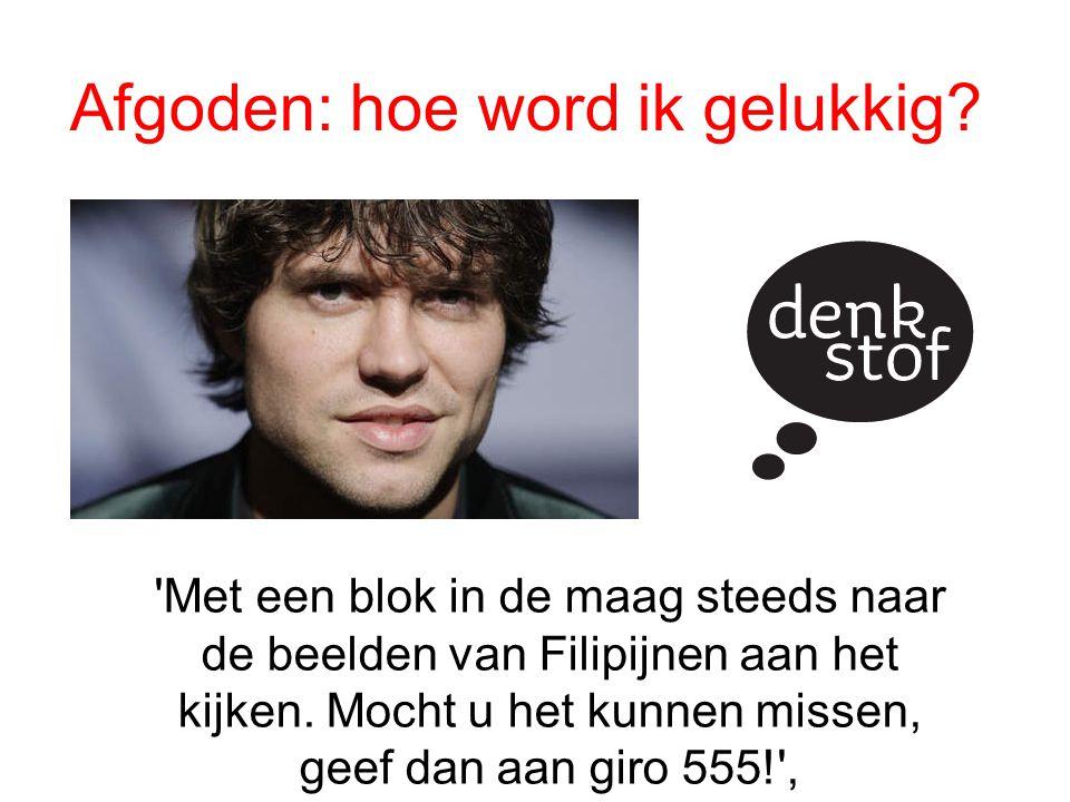 'Waar je schat is, daar is je hart' Er is genoeg ellende in Nederland zelf dus ik sponsor niks hier zijn ook mensen die onder de armoedegrens leven, doneer daar maar eens aan