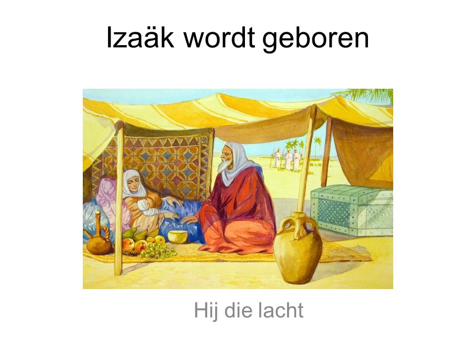 Izaäk en Ismael hebben vaak ruzie samen. God zegt tegen Abraham: 'Stuur Hagar en Ismael weg!'