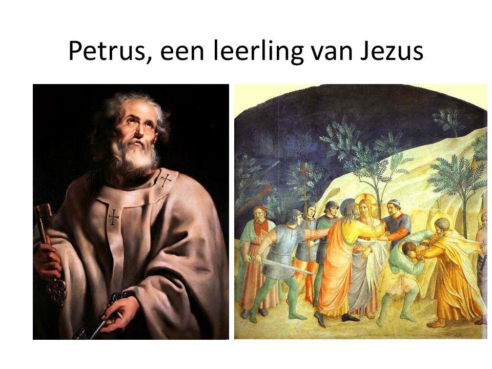 Petrus, een leerling van Jezus