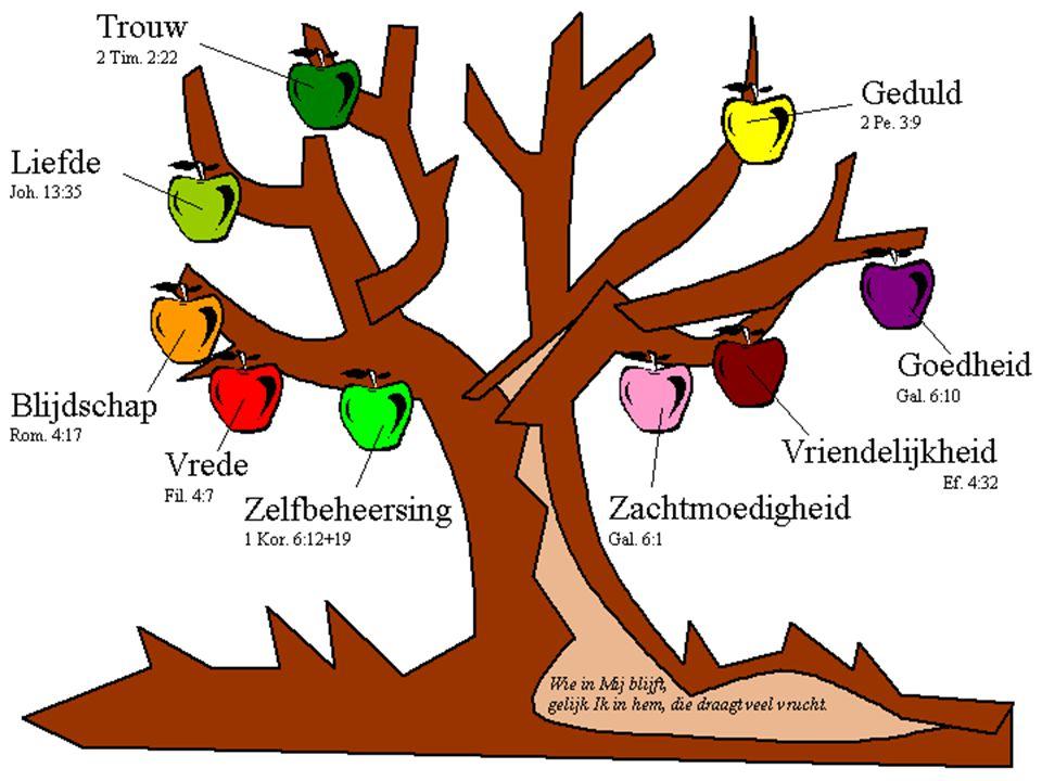 Te herkennen aan de vrucht!