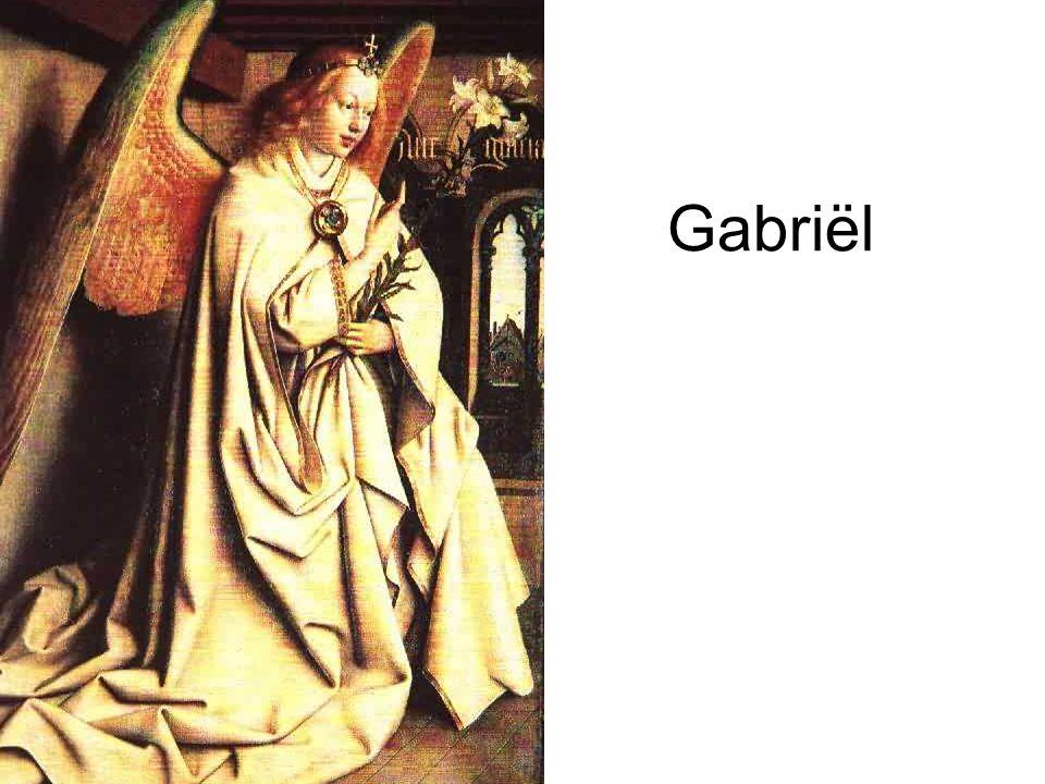Gabriël zei: Wees niet bang, Maria, God heeft het beste met je voor.