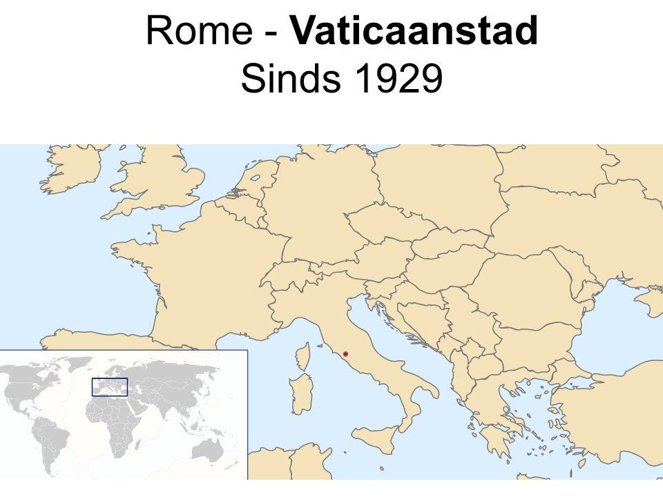 Rome - Vaticaanstad Sinds 1929