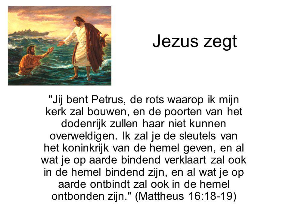 Jezus zegt
