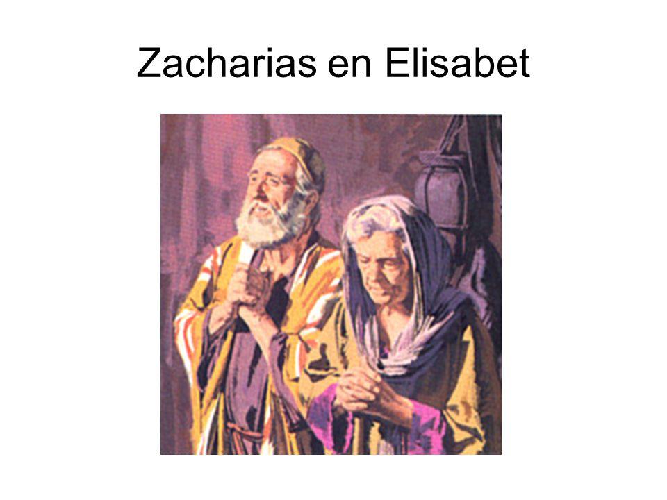 Zacharias en Elisabet