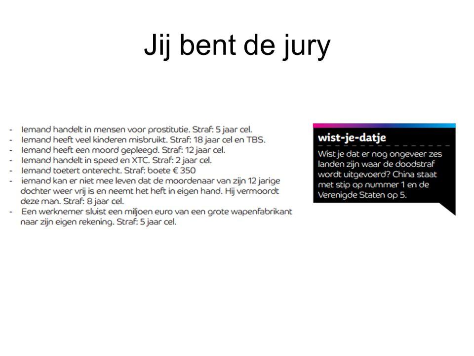 Jij bent de jury