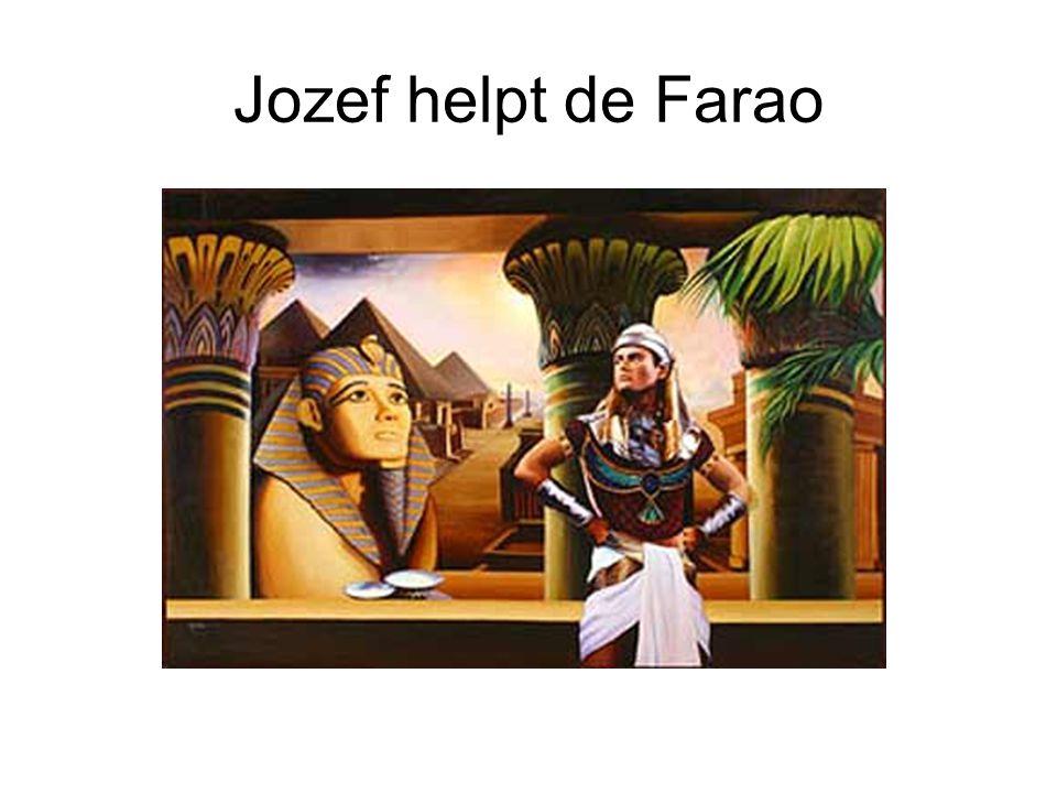 Jozef helpt de Farao