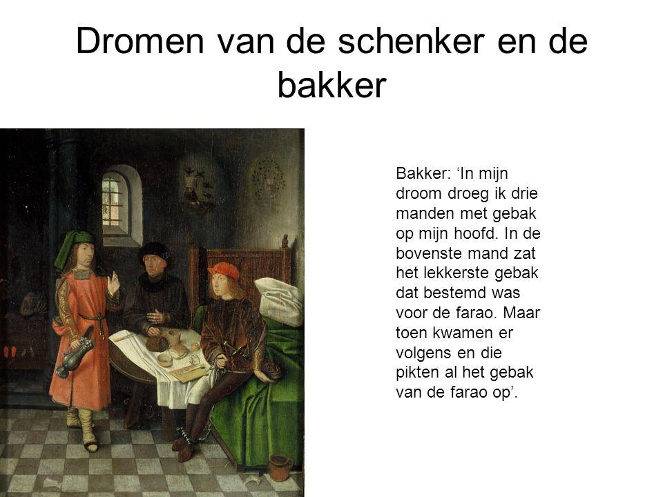 Dromen van de schenker en de bakker Bakker: 'In mijn droom droeg ik drie manden met gebak op mijn hoofd.