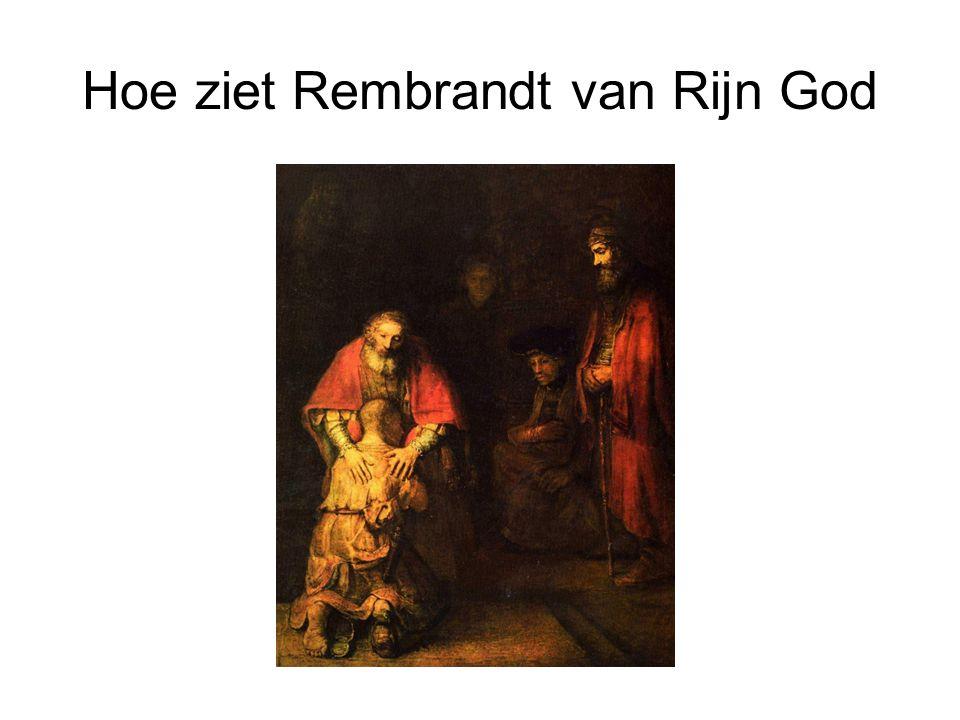 Hoe ziet Rembrandt van Rijn God