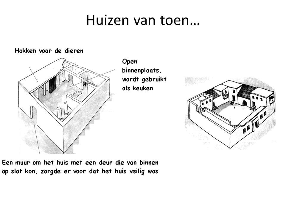 Huizen van toen…