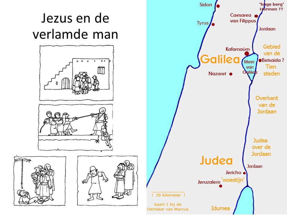 Jezus en de verlamde man