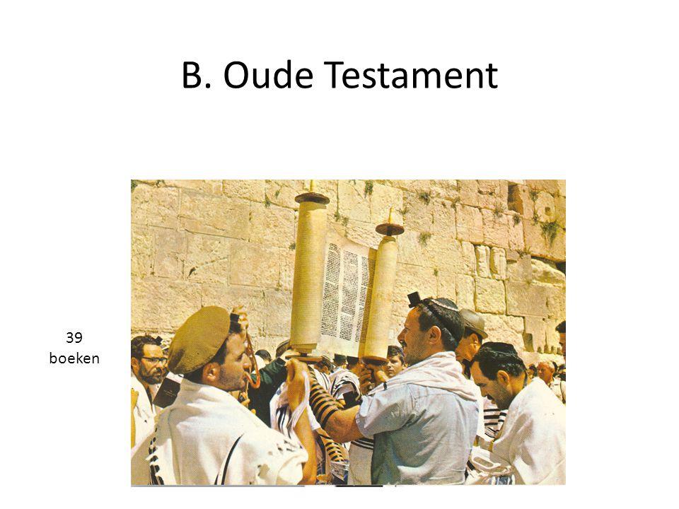 B. Oude Testament 39 boeken