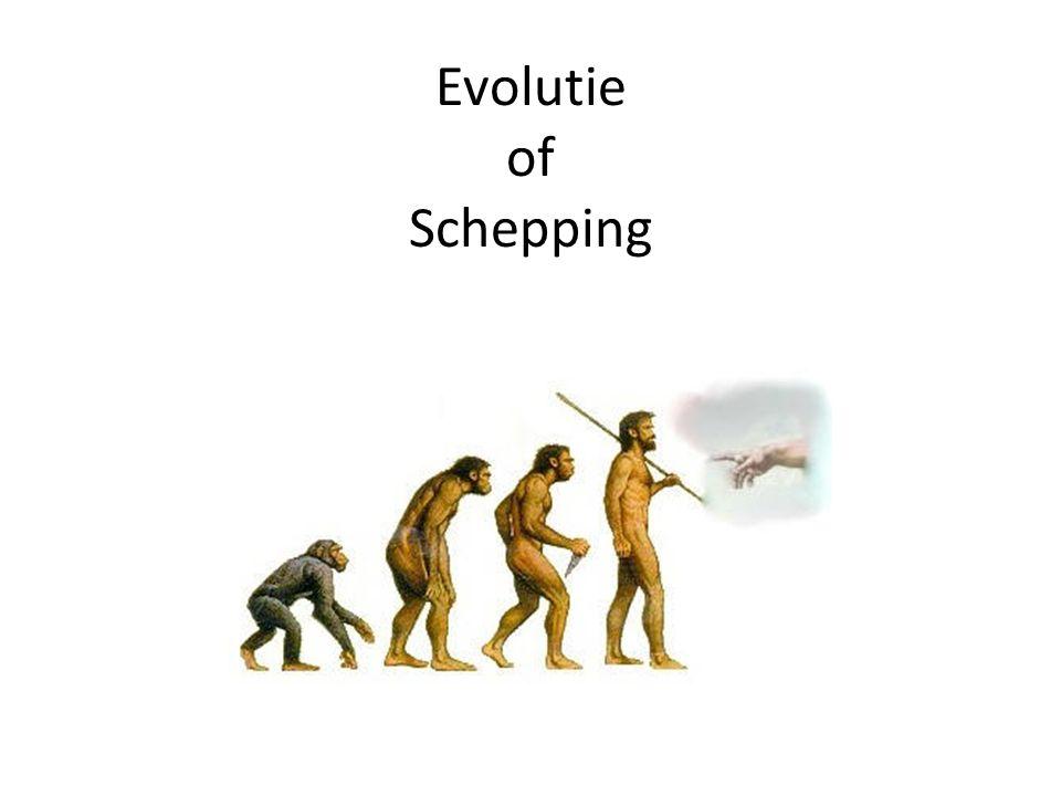Evolutie of Schepping