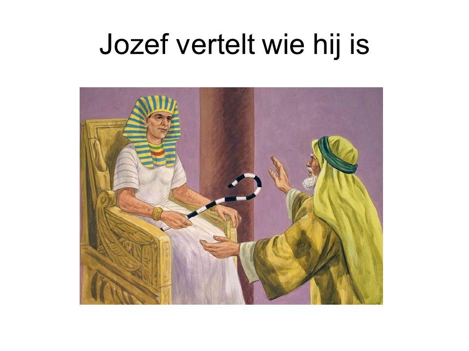 Jozef vertelt wie hij is