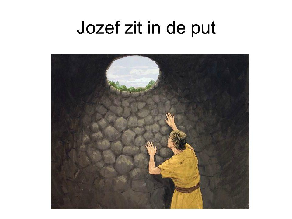Jozef controleert of het goed gaat.