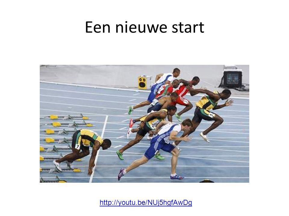 Een nieuwe start http://youtu.be/NUj5hgfAwDg
