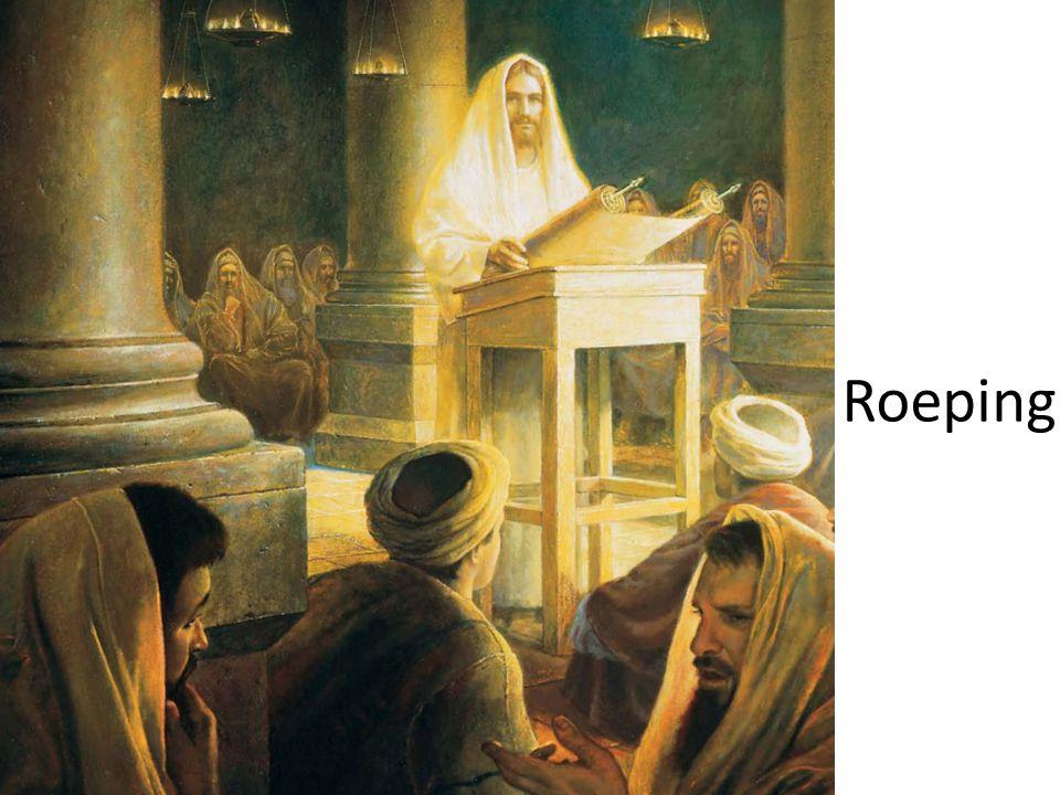 Jezus roept zijn eerste leerlingen Toen Jezus eens langs het meer van Galilea liep, zag Hij Simon en Simons broer Andreas op het meer hun netten uitgooien; want het waren vissers.