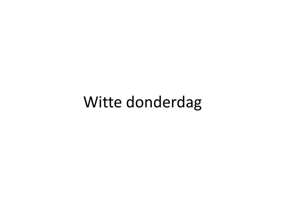 Witte donderdag