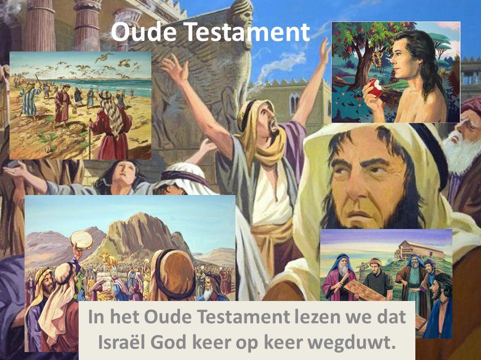 God blijft volhouden God stuurt profeten die het Volk vertellen hoe het bedoeld is.