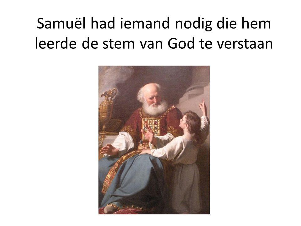 God liefhebben boven alles en je medemens als je zelf Samuël leefde volgens de leefregels die bij God passen.