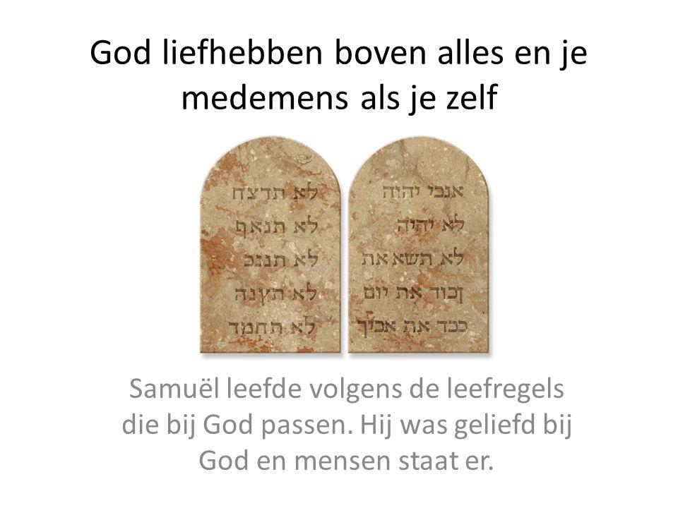 Geboren om aan Gods vraag te voldoen Samuël vs Jezus
