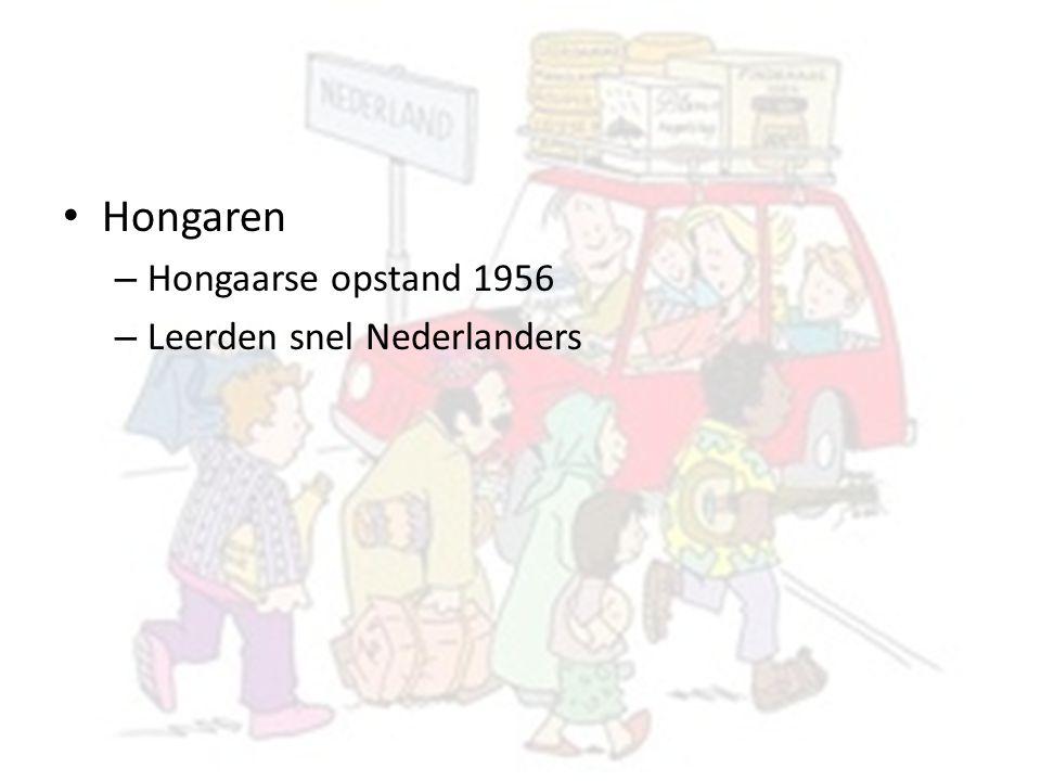Hongaren – Hongaarse opstand 1956 – Leerden snel Nederlanders