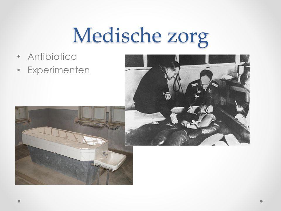 Medische zorg Antibiotica Experimenten