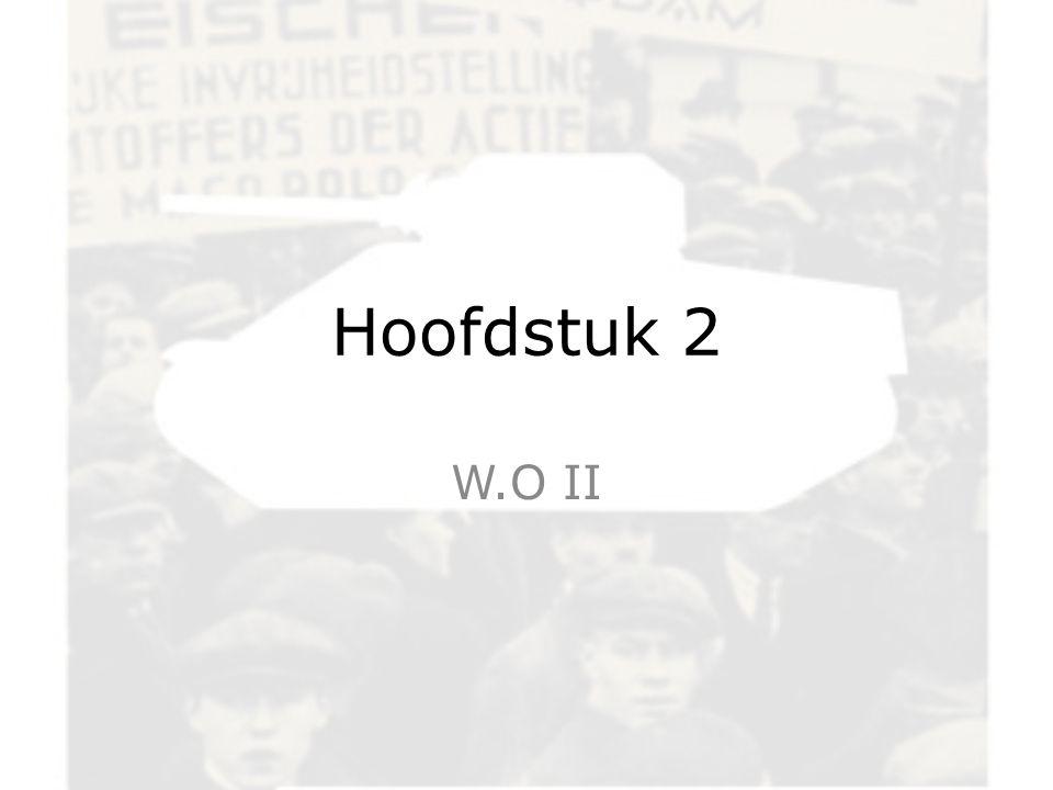Hoofdstuk 2 W.O II