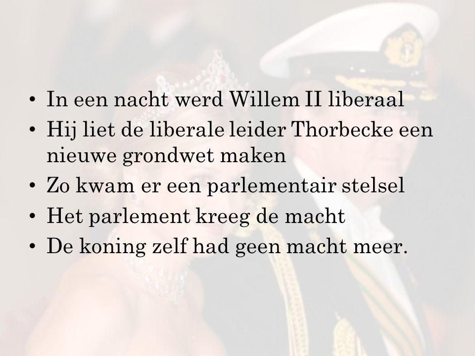 En onze Willem.