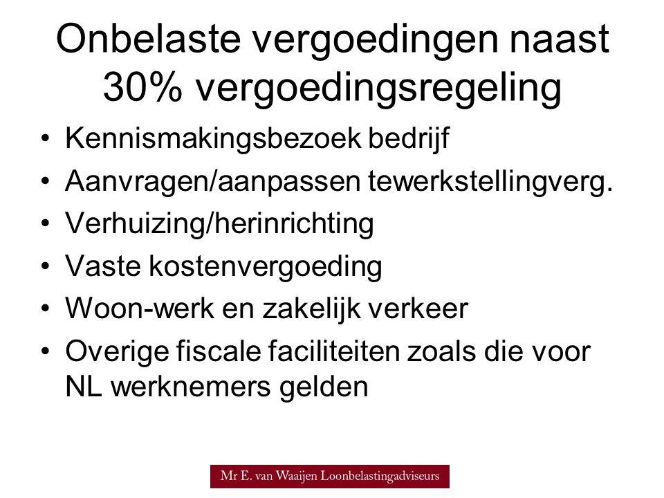 30% regeling HR 28.04.2006, nr.