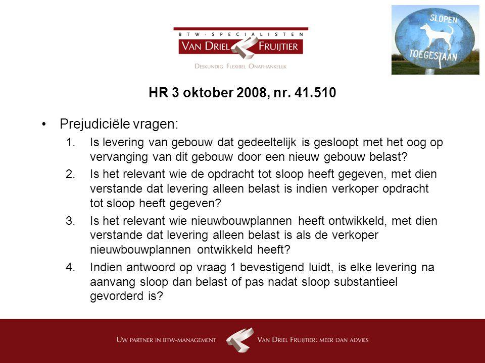 HR 3 oktober 2008, nr.