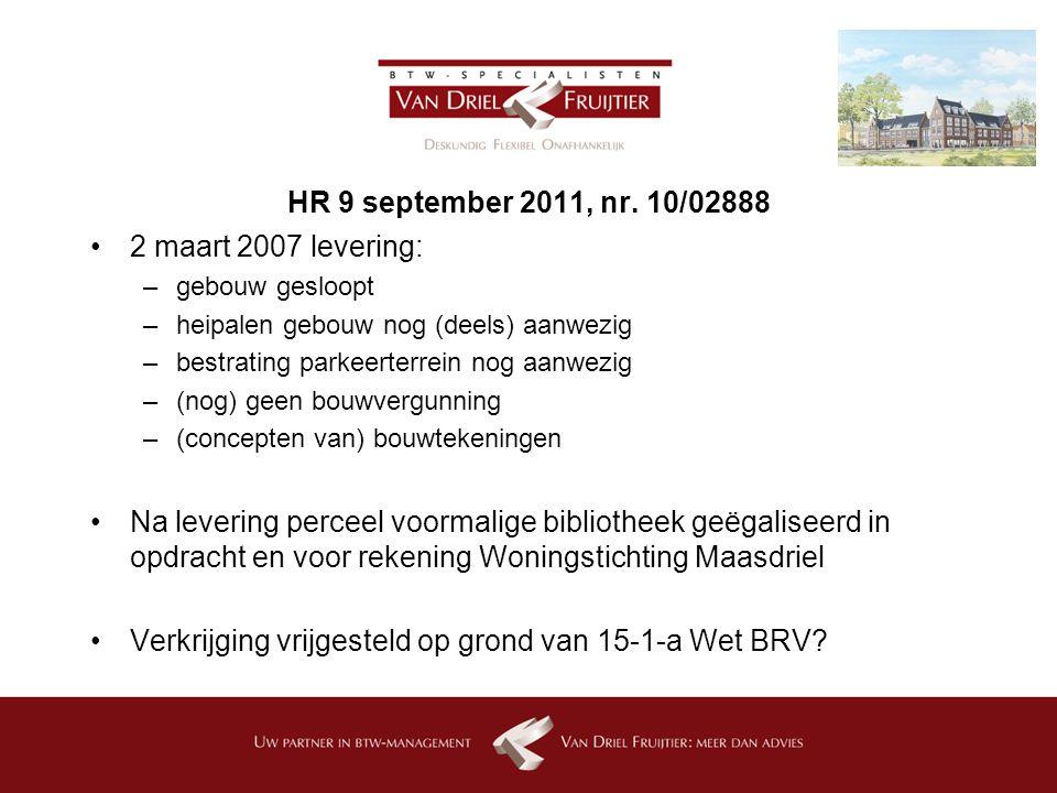 HR 9 september 2011, nr.