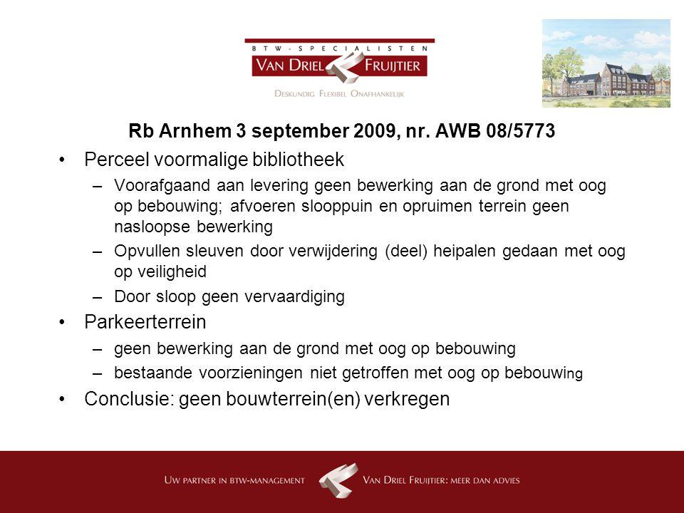 Rb Arnhem 3 september 2009, nr.