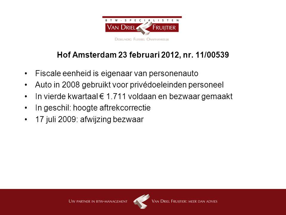 Hof Amsterdam 23 februari 2012, nr.