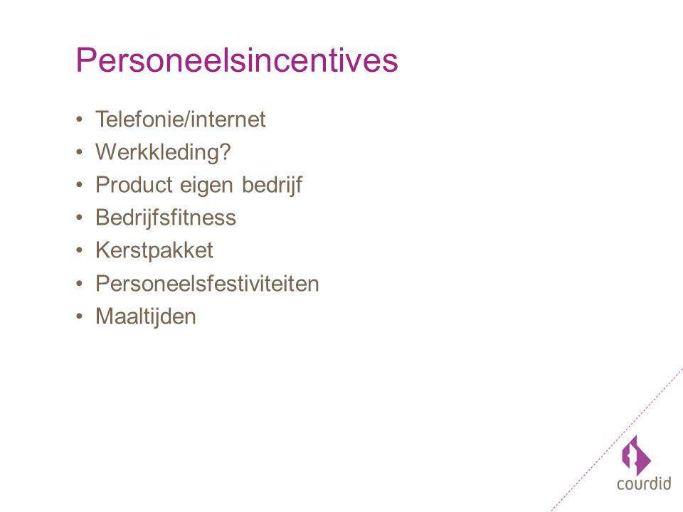 Personeelsincentives Telefonie/internet Werkkleding.