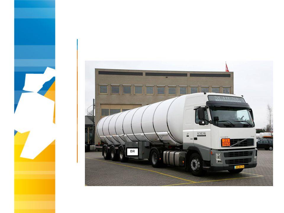Hoe herken je een Autogas (LPG)-tankwagen die is voorzien van de hittewerende bekleding.